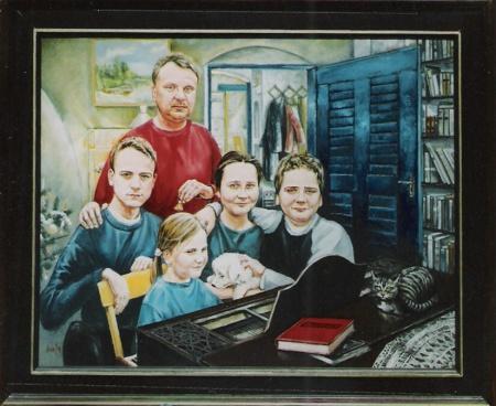 A Szűcs család - Portré