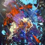 Absztrakt 7 - Absztrakt festmény