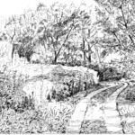 Ártéri úthoz vázlat - Rajzok