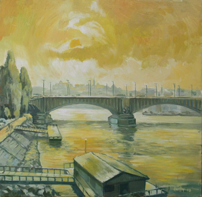 Dunapart - Tájkép
