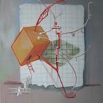 Egy mérnök lázálma - Absztrakt festmény