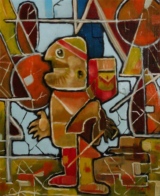 Erdei séta - Absztrakt festmények