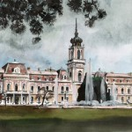 Festetics kastély - Balatoni akvarell