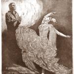 Flamenco tánc