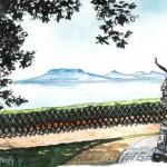 Fonyód - Balatoni akvarell