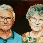 Idős pár - Portré