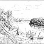 Kécskei kanyar - Rajzok