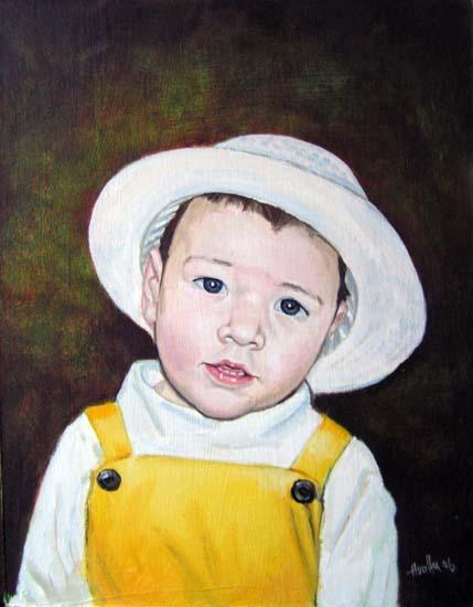 Kislány portré - Porté