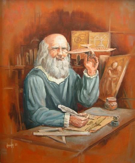 Leonardo - Portré