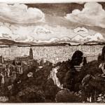 Malagai látkép az Alcazabából