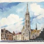 Mátyástemplom 2012 - Budapesti akvarell