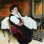 Népviseletben - Portré