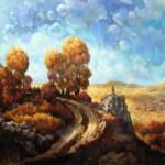 Őszi táj - Tájkép