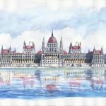 Parlament 2012 - Budapesti akvarell