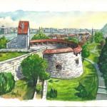 Rondella 2012 - Budapesti akvarell