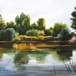 Síkvíz - Akvarell