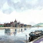 Uszályok - Budapesti akvarell